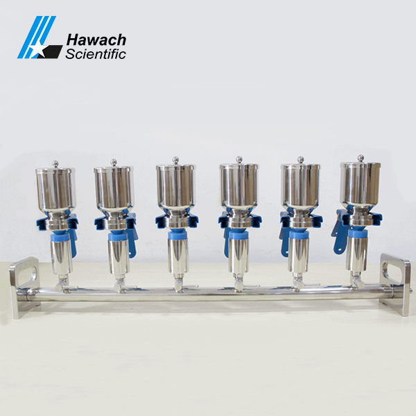 Stainless Steel 6-Branches Vacuum Filtrations